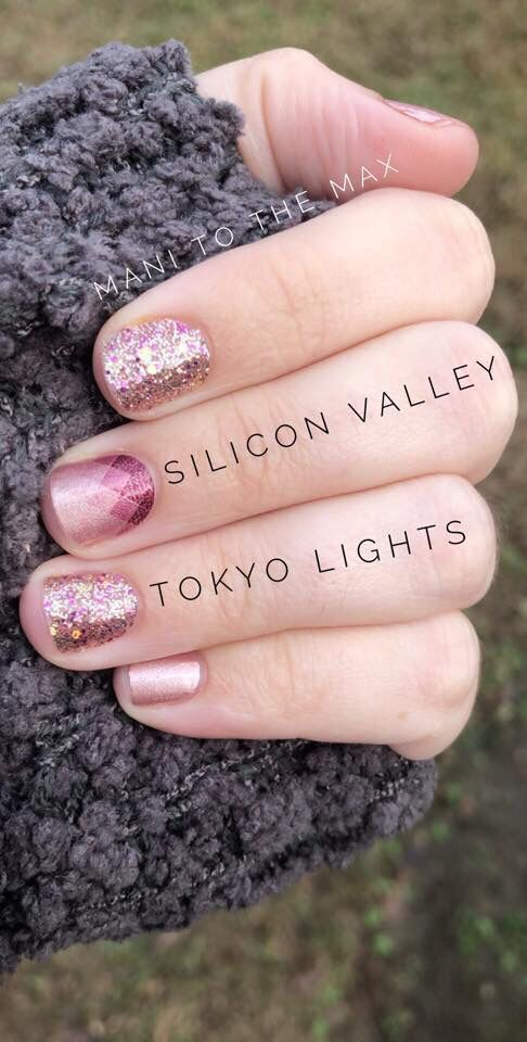 Add A Little Sparkle To Your Mani With Tokyo Lights Color Street Is 100 Nail Polish But No