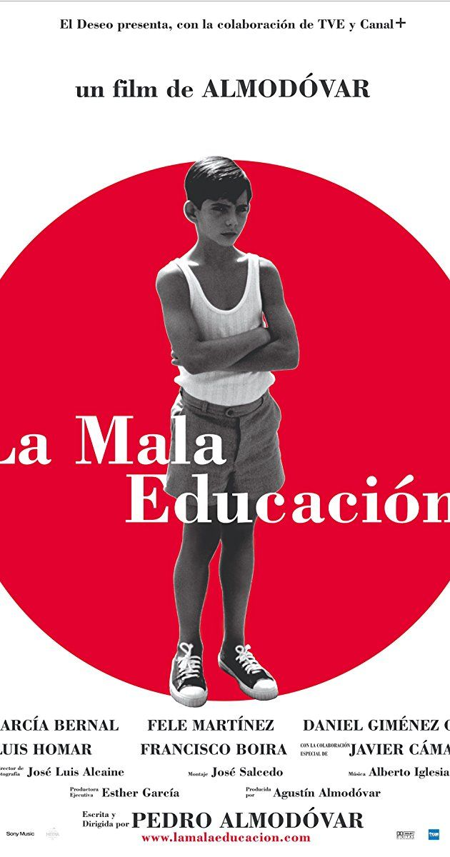 Directed by Pedro Almodóvar. With Gael García Bernal, Fele Martínez, Javier Cámara, Daniel Giménez Cacho. An examination on the effect of Franco-era religious schooling and sexual abuse on the lives of two longtime friends.
