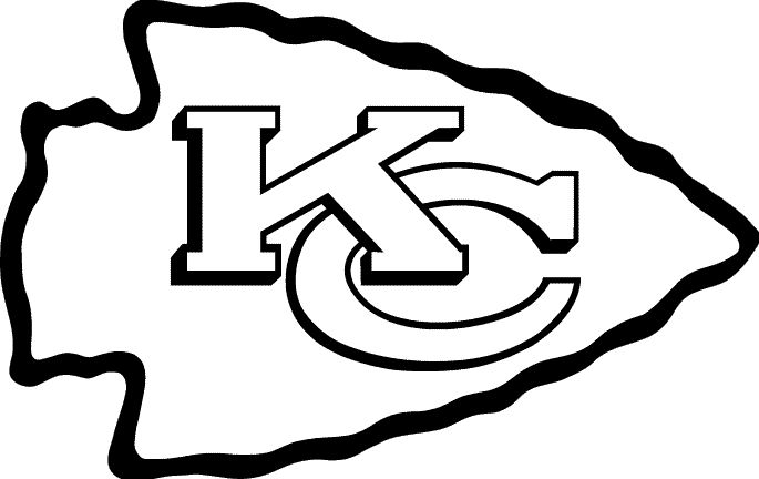 It is a photo of Decisive Kc Chiefs Football Coloring Pages