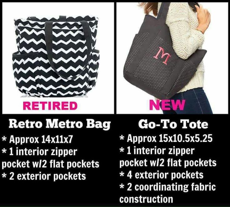If you liked the retro you'll love the go-to tote call me 315 399 2099