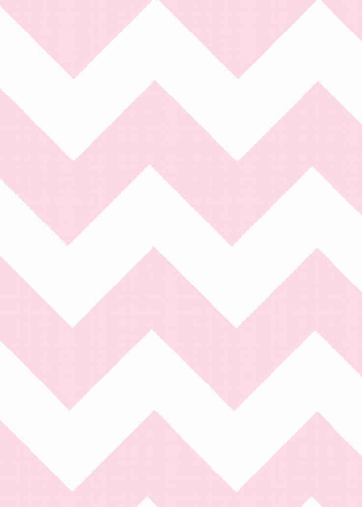 how to make pink chevron printables