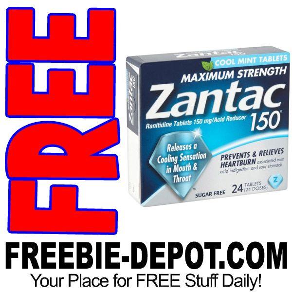 ►► FREE Zantac OTC Heartburn Medication - 24 or 30 Ct. at Walmart - MONEY MAKER - Exp 5/3/17 ►► #Free, #FREEStuff, #FREEWithCoupon, #FREEbate, #Freebie, #Frugal, #FrugalFind, #Heartburn, #MoneyMaker, #Walmart ►► Freebie Depot