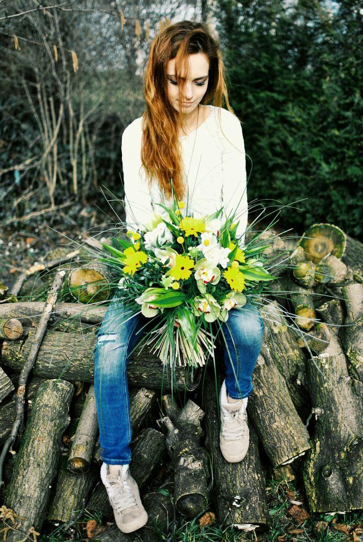 #flowers #autumn #bouquet #cimbidium