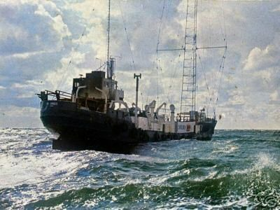 Pirate Radio Caroline south broadcast on 201/253 metres medium wave from the MI Amigo boat off the Frinton coast in essex from july 1964 through to August 1968.  These original broadcasts from Radio Caroline South were recorded via reel to reel tape in the sixties and have been enhanced / converted to MP3 format as technology has allowed - MP3 format plays on most modern CD players, Ipods, computers and most DVD players -  further details here…