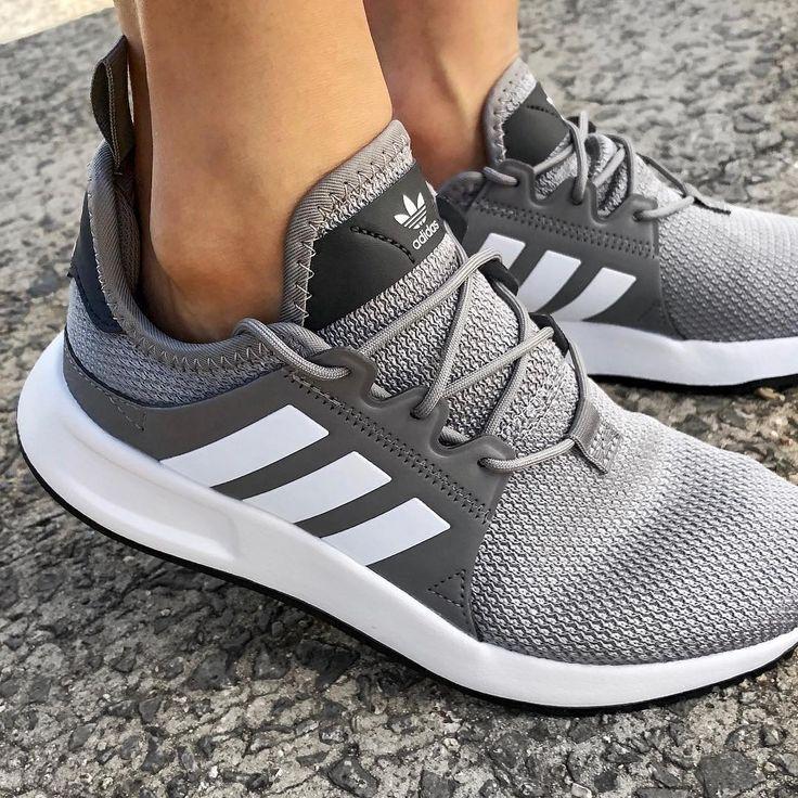 adidas Originals X_PLR shoes gray