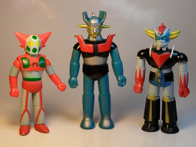 Popy Super Robots by My Toy Museum, via Flickr