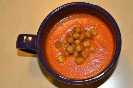 soup with roasted chickpeas more daniel fast heathy soups roasted ...