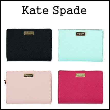 kate spade new york 折りたたみ財布 【即発◆3-5日着】kate spade★newbury lane cara カード用財布