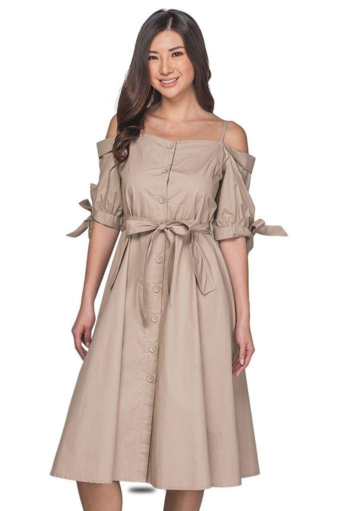 3cdd29090a46 Plains and Prints Women Butter Dress | Women's Dress | Dresses ...