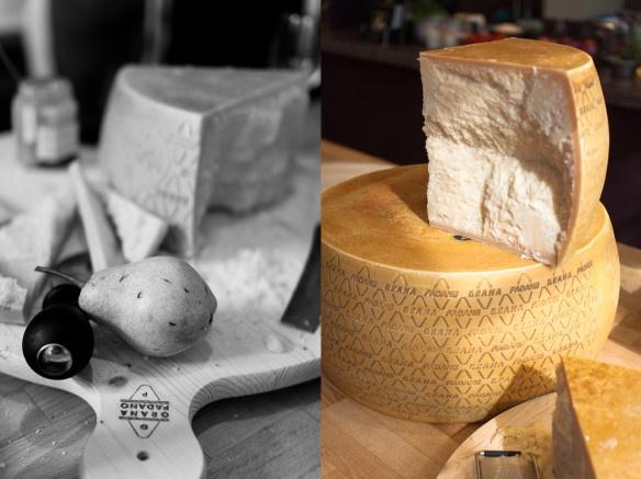 Risotto with Grana Padano Ice-Cream. A recipe by Giancarlo Caldesi on Mondomulia.com