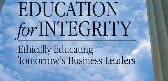 Management Education for Integrity. A study of how to integrate integrity  and business ethics across the curriculum. Available through the SFU Library: http://i.sfu.ca/RKgXxz