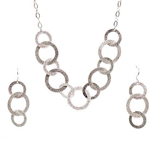 Set di gioielli d'argento II. Plata fina.
