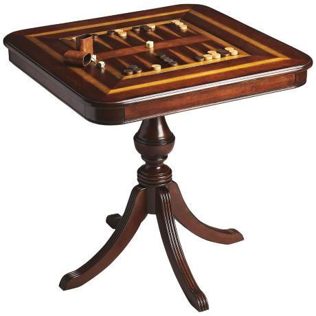 Madison Plantation Cherry Game Table