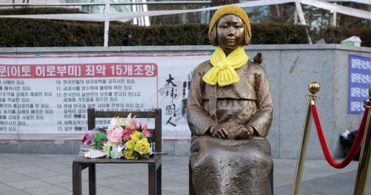 """Japão e Coreia do Sul farão acordo sobre as """"mulheres de conforto"""" da segunda guerra mundial"""