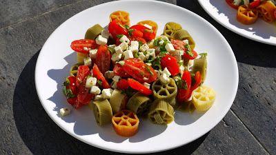 Polskie South Beach: Makaron z pomidorami i fetą