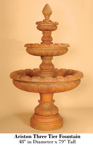 Ariston Three Tier Fountain