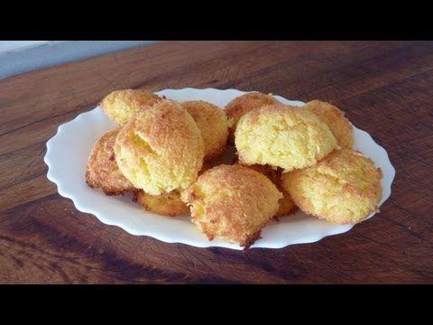 [Receta Fácil] Pastelitos de Coco en menos de 2 minutos (sin leche ni gluten) - YouTube