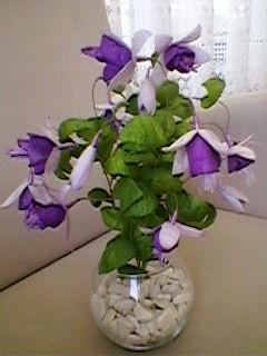 kozadan küpeli  Çiçeği