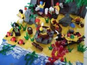Gorilla Bay: A LEGO® creation by Erdbeereis 1 : MOCpages.com