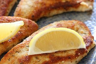 Turkey Cutlets with Parmesan Crust