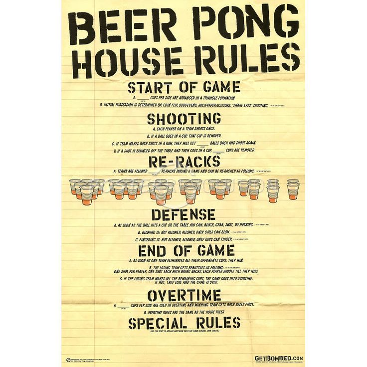 beer pong informative speech Find hundreds of pages of informative articles search from over 3 million scholarships forum home latest posts activity unanswered best of find a college college and im not sure how many people have to point this out the term 'beer pong' properly refers to the game with paddles.