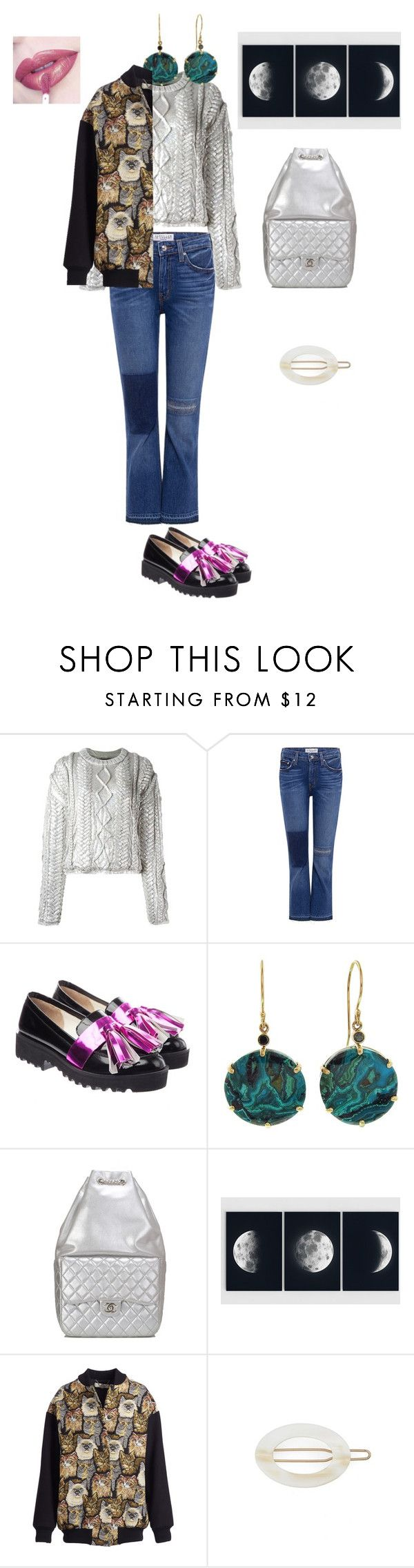 """Untitled #3164"" by ayse-sedetmen ❤ liked on Polyvore featuring Filles à papa, 10 Crosby Derek Lam, Anouki, Jamie Joseph, Chanel, STELLA McCARTNEY, France Luxe and Anastasia Beverly Hills"