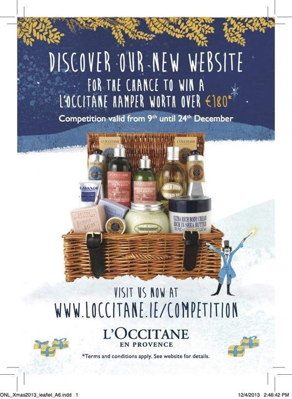 L'OCCITANE - Promotional Flyers, Leaflets & Invitations on Behance