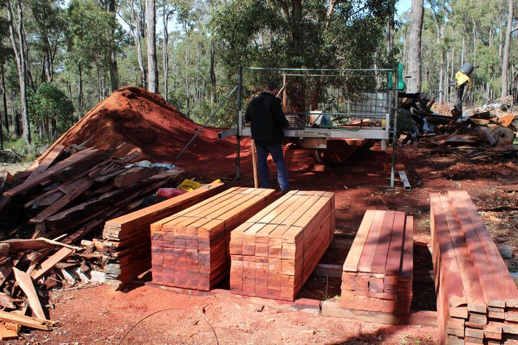 Jarrah Timber cut to ordered size