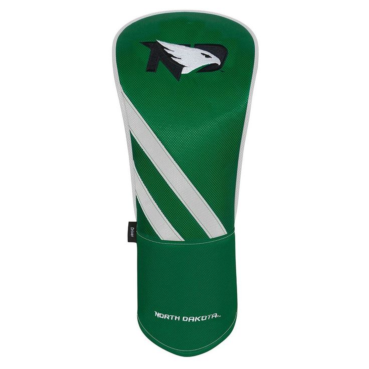 Team Effort North Dakota Fighting Hawks Stripes Driver Headcover, Multicolor