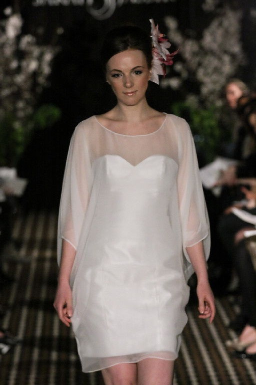 Sarah Jassir short dress.  If I looked like this, then I'd wear this!  Nice for a wedding.