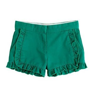 Ruffle Shorts Tutorial  Inspiration Shorts from JCrew      Class Picnic Shorts with Ruffles  Oliver + S