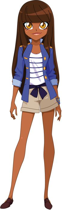 Princess Talia is one of the three main characters of LoliRock. She is the princess of Xeris and a member of the LoliRock band. She became best friends with Iris and Auriana since they chose Iris as the vocalist.