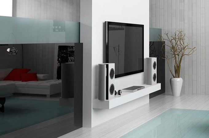 113 best images about tv unit on pinterest for Tv cabinet designs for hall