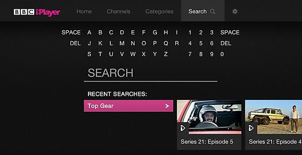 Welcome to the new BBC iPlayer on TV