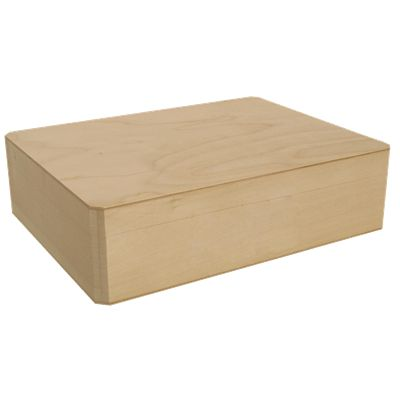 Cornice Box 19.99 from Walnut Hollow (this is slightly larger than the Keepsake Box for $16.99)