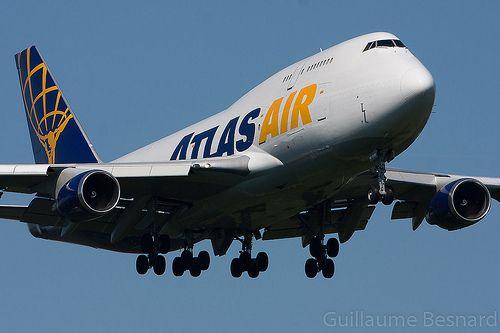 Boeing 747-400BCF Atlas Air N459MC cn 26344/929