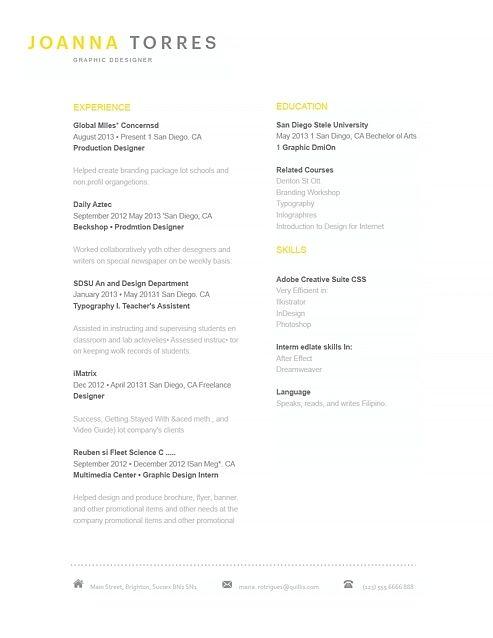 Showcase Word Elegant Resume Templates Resume, Resume Design