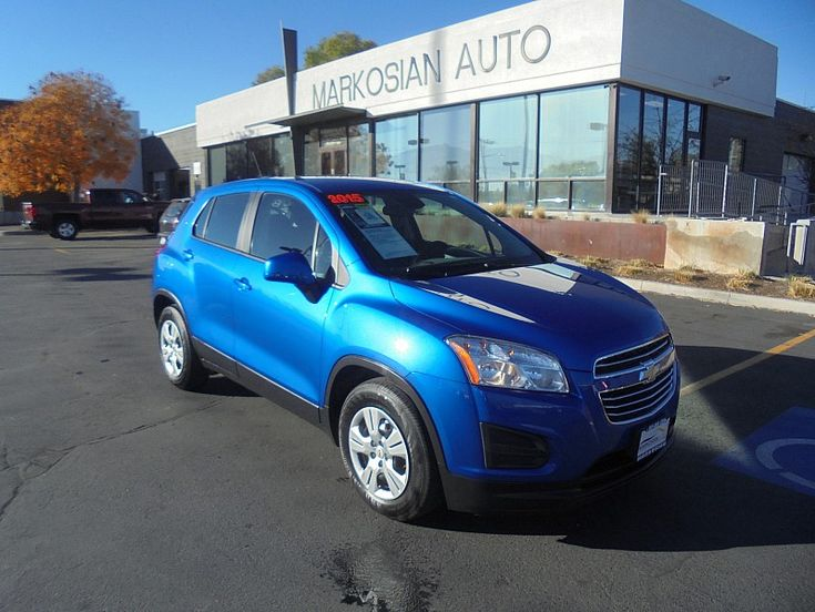 2015 Chevrolet Trax Style: 4d SUV FWD LS w/1FL Mileage: 23357 Exterior Color: BLUE VIN: KL7CJKSB6FB106239 Stock Number: #18428 Type: Compact SUV Transmission: Automatic 6-Spd Drivetrain: FWD Engine: 4-Cyl Turbo 1.4 Liter Fuel Type: Gasoline Price: $11997 Location: Lindon In-house Financing Downpayment: $995 Need a lower downpayment? Call 801-900-6222. Description Markosian Auto provides Utah's best...