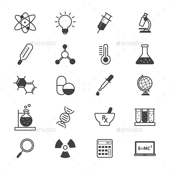 Science and Medical Icons Line — Vector EPS #icon #education • Available here → https://graphicriver.net/item/science-and-medical-icons-line/14848537?ref=pxcr