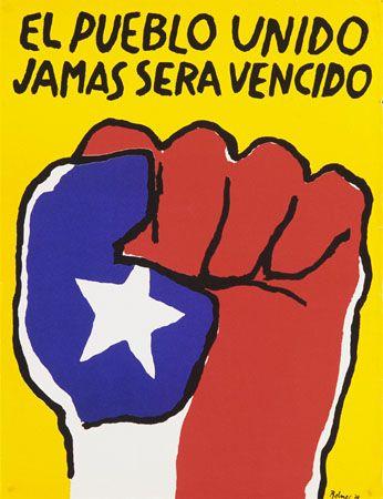 José Balmes, El Pueblo Unido Jamás será vencido.