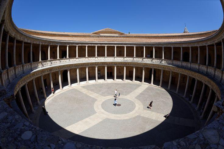 Alhambra,  Palast Karls V, 500px, Granada, Spanien | Granada, Spain