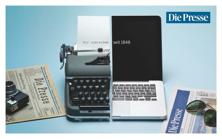 Die Presse: Laptop | Ads of the World™