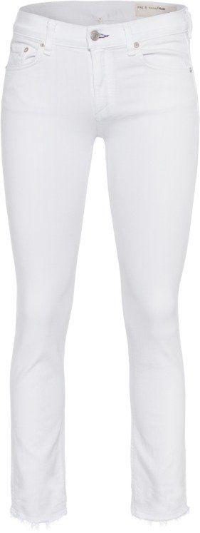 Pin for Later: So gut sahen abgeschnittene Jeans noch nie aus  RAG & BONE weiße Jeans (199 €)