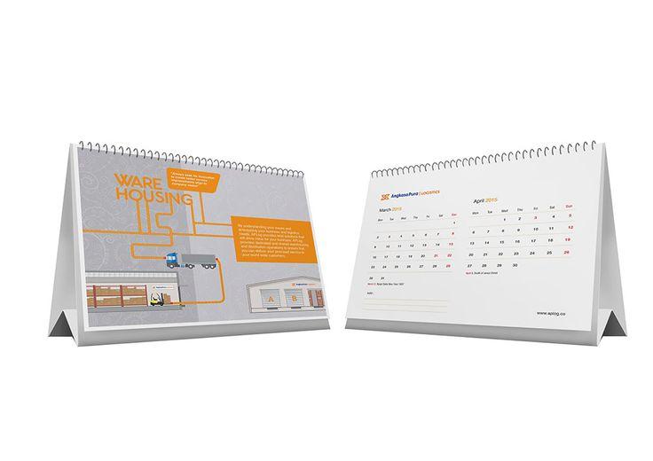 jasa desain kalender meja perusahaan AP logistic_2
