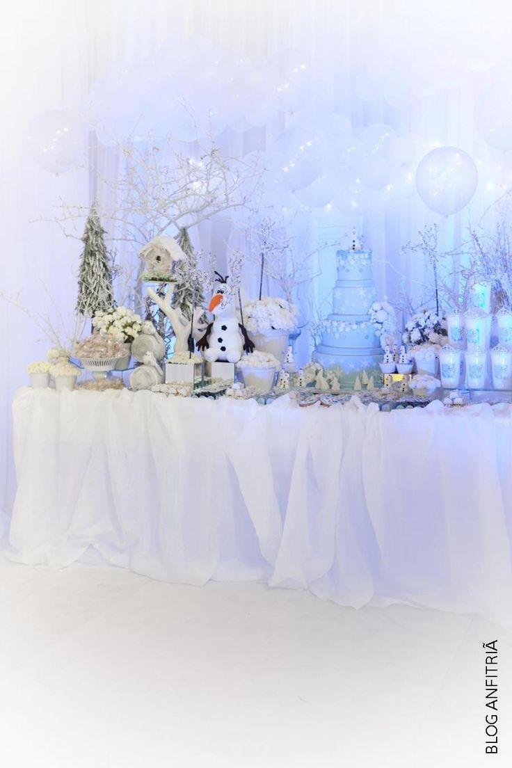 decoração frozen