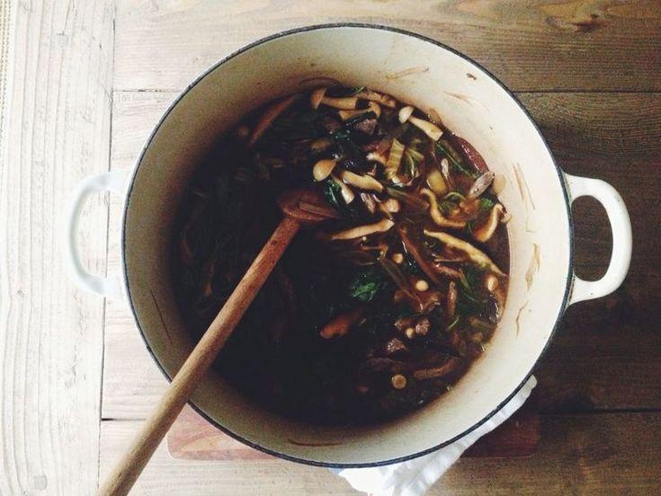 japanese hot pot. so simple. so good.