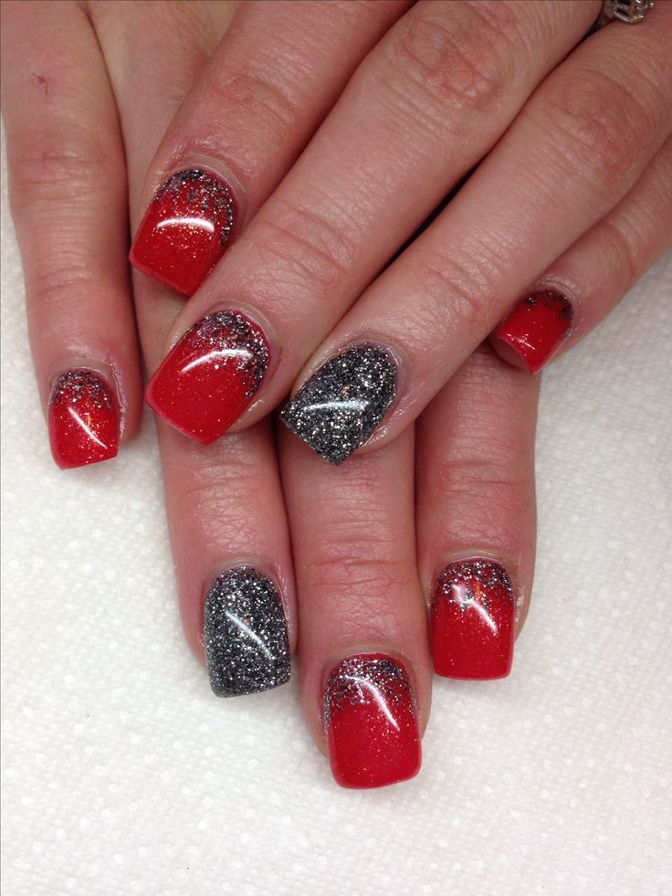 Gel Nails With Chrome Accent Nail: Best 25+ Grey Gel Nails Ideas On Pinterest
