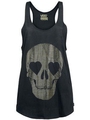 #Skulls #Moda Top x Vans $26.99 € en  EMP... la mayor tienda online de Europa de Merchandising oficial de bandas de Metal, Hard Rock , Heavy, Ropa Gótica , Punk y todo lo que te hace falta para vivir el Rockstyle en toda su dimensión.  #EMP #Rock Mailorder #España