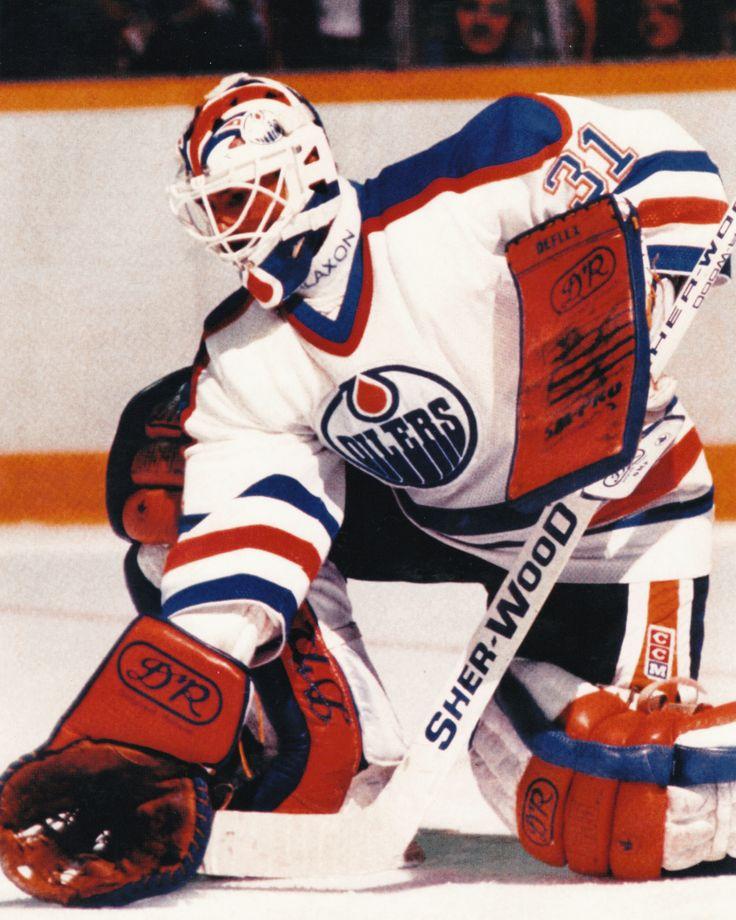 "Grant Fuhr - Edmonton Oilers - 8"" X 10"" NHL Hockey Pictures & Autographs"