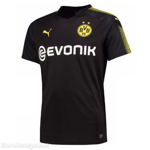 $16 Eurojerseys.net Borussia Dortmund 2017-18 Away Soccer Jersey Football Shirt Fußball-Trikot